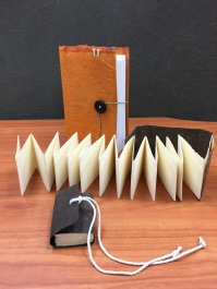 Hand bound Sketchbooks using handmade CAVE paper taught by Bridget O'Malley