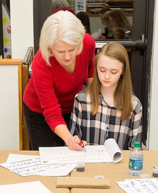 Intro to Italic Calligraphy with Lori Tews