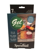 Speedball/AKUA Gel Print Set