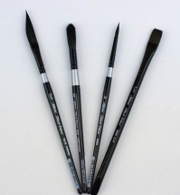 Silver Brush Black Velvet Custom Set