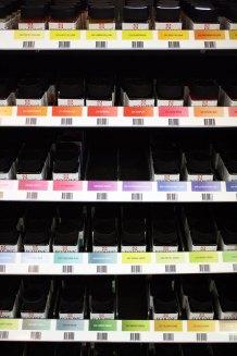 Ecoline liquid watercolor rack