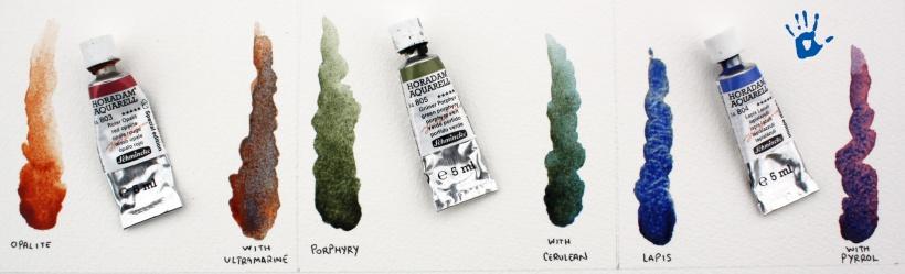 Schmincke Semiprecious Stones Watercolor Set