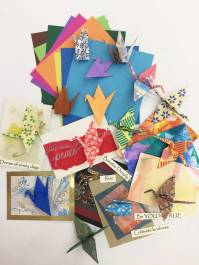 Cranes of Hope Artist Trading Cards Project