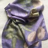 Eco Printing on Silk