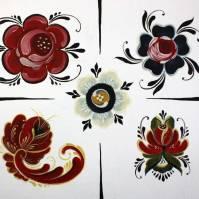Rosemaling: Roses & Design