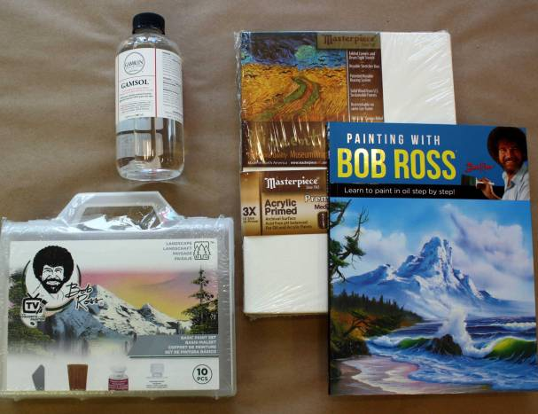 Bob Ross Painting Pack $114.33