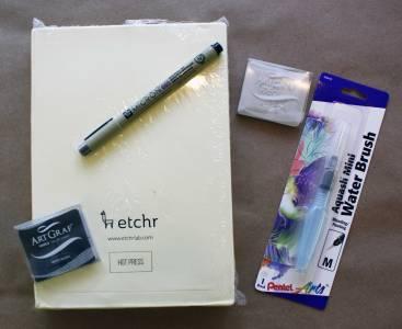 Etchr Water-media Pack $61.04